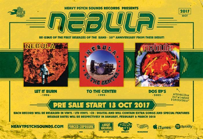 nebula banner - NEBULAの初期3作品がHEAVY PSYCH SOUNDSから再発