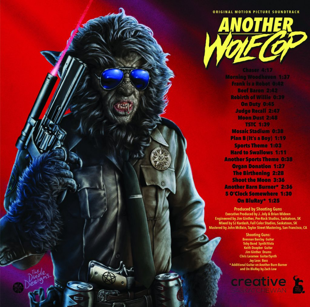shooting guns a4058079930 10 1024x1015 - ホラー・コメディ映画『ウルフ・コップ』の続編『Another Wolfcop』のOSTが4月4日にリリース!
